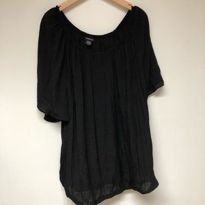 | Torrid | black off the shoulder top. Size 5.